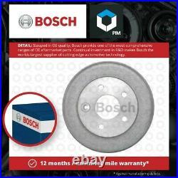 2x Brake Drums (Pair) fits FORD ESCORT Mk2 2.0 Rear 75 to 80 NE Set Bosch New