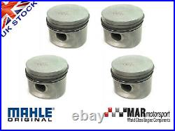 4 x Ford 2.0 OHC Pinto RS 2000 Capri MAHLE PISTONS 91.83mm High Comp