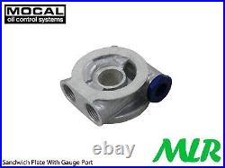 Ford Escort MK1 MK2 Capri Ohc Pinto Mocal 5/8BSP Huile Radiateur Fixation Kit