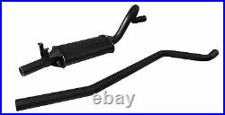 Ford Escort Mk1 OHC Left Hand Exit Single Box RS2000 Sportex 2.5 Exhaust System