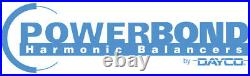 Powerbond Street Harmonic Balancer Fits Ford 4.0L OHC 6 Cylinder PB1462-ST