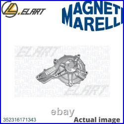 Water Pump For Ford Citro N Fusion Ju Fuja Fujb Ka Rb Jjf Jjg Ex Magneti Marelli