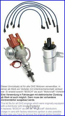 Zündverteiler OHC 1,6-2,0l RS 2000 Umrüstung kontaktlose Zündung FORD Escort MK2